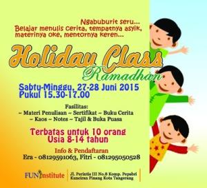 holiday class ramadhan2