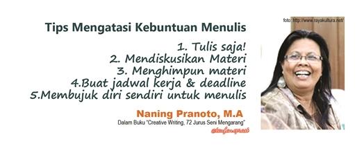 naning - writers block1