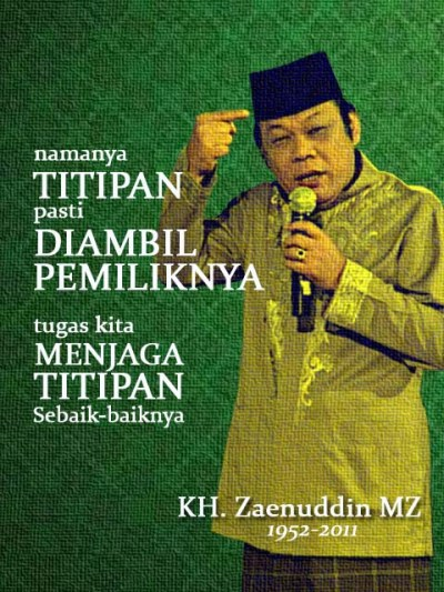 kh-zaenuddin-mz-titipan