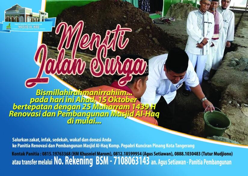 Iklan Masjid - Batu Pertama