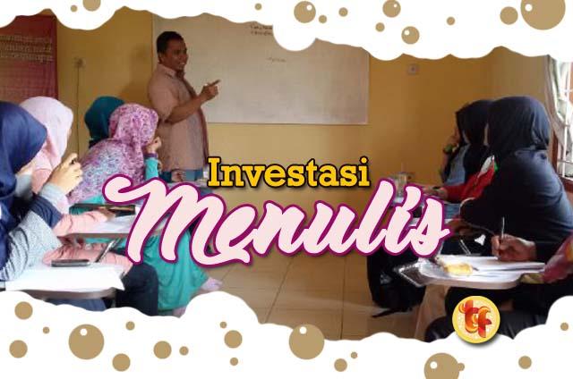 Investasi Menulis
